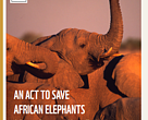 An act to save African elephants